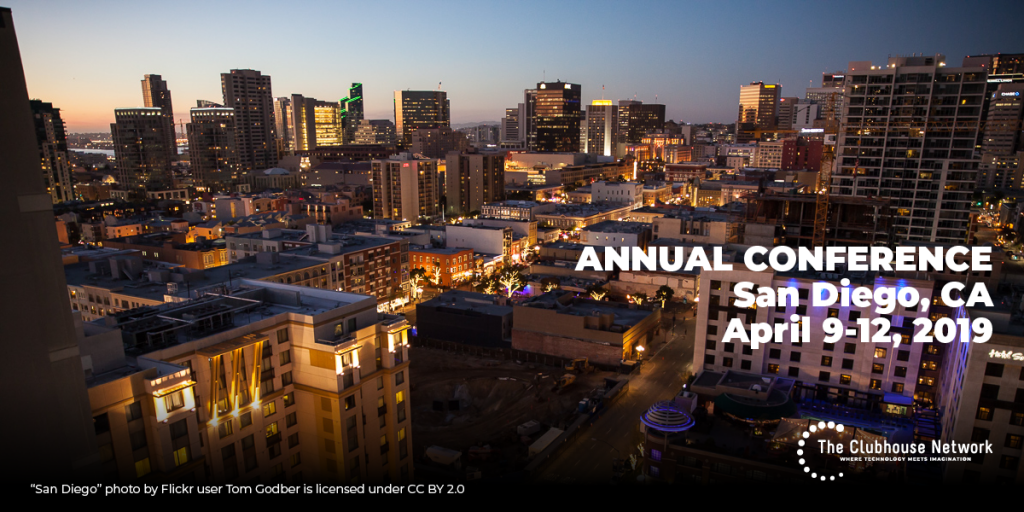 Annual conference - San Diego, CA - April 9-12, 2019