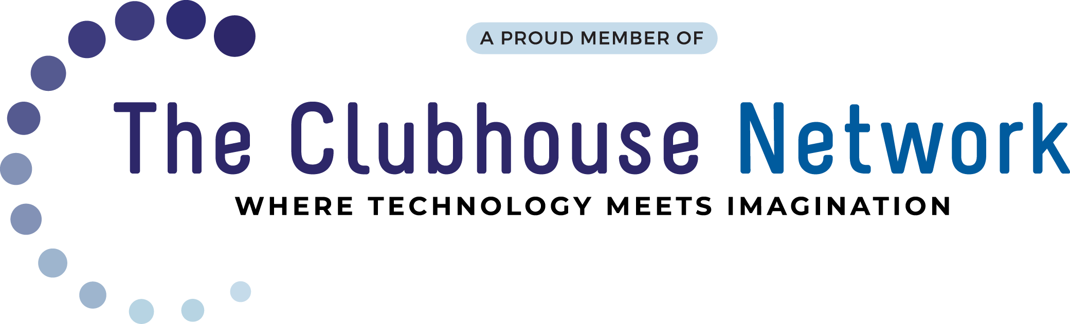 Logo: Proud Member of The Clubhouse Network