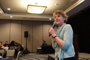 Executive Director Gail Breslow delivers her State of the Network address