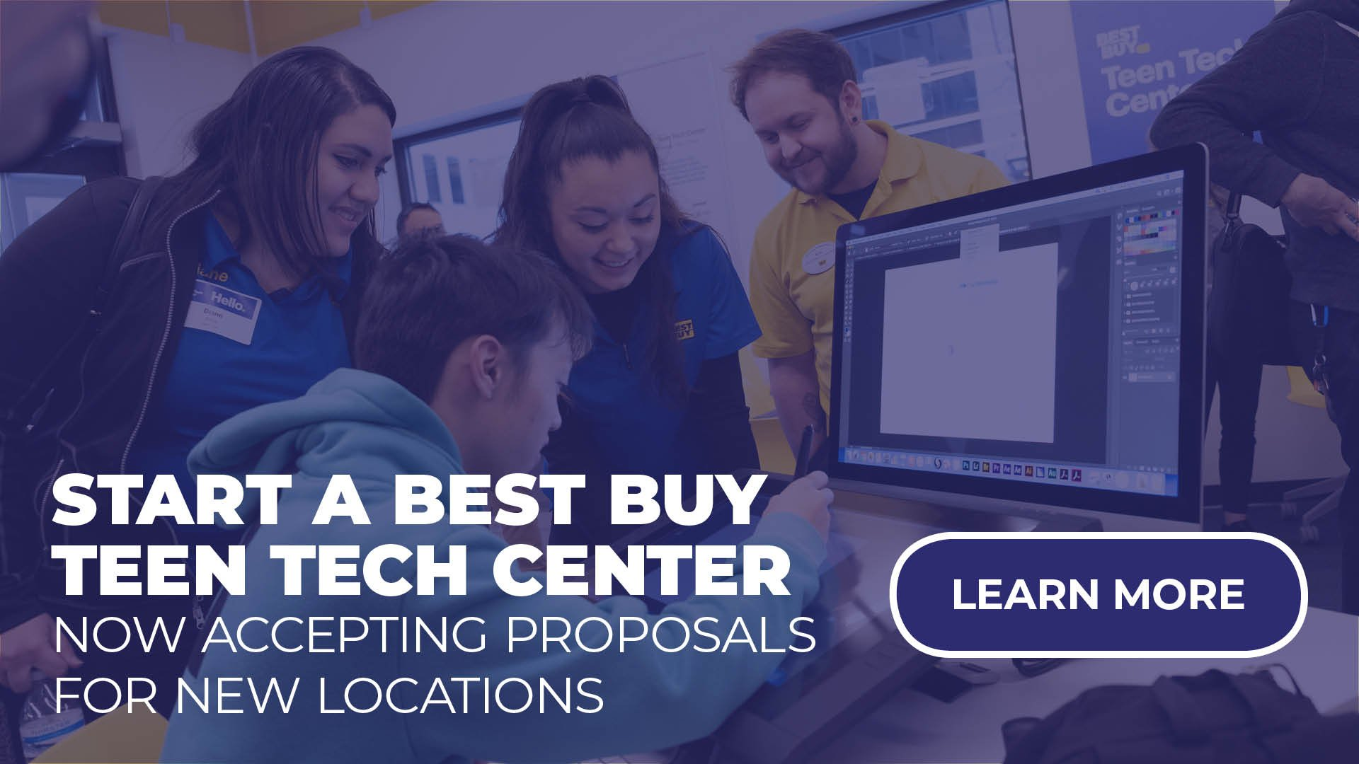 Start a Best Buy Teen Tech Center