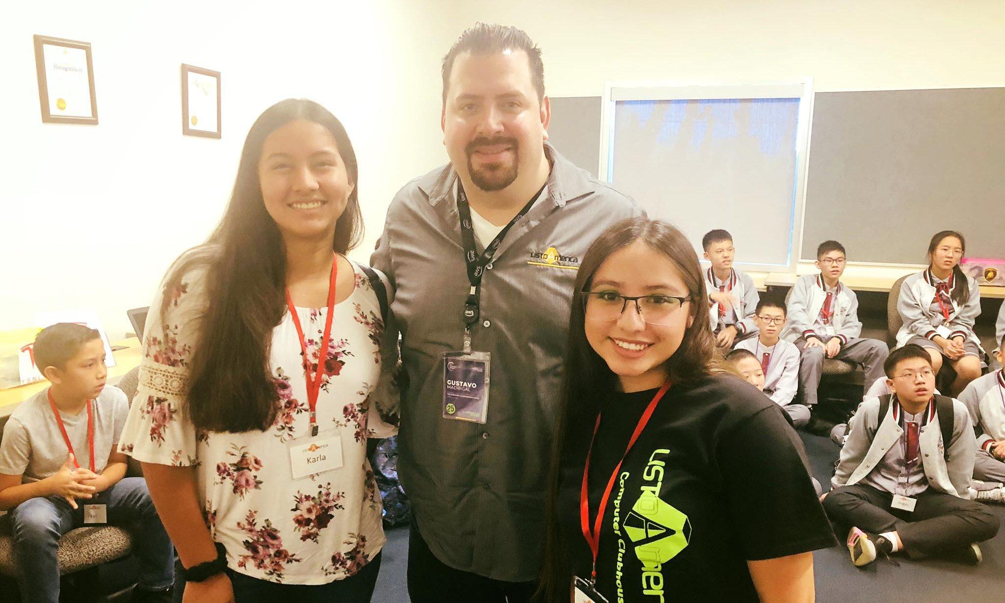 Karla, Gustavo, and Judith of ListoAmerica