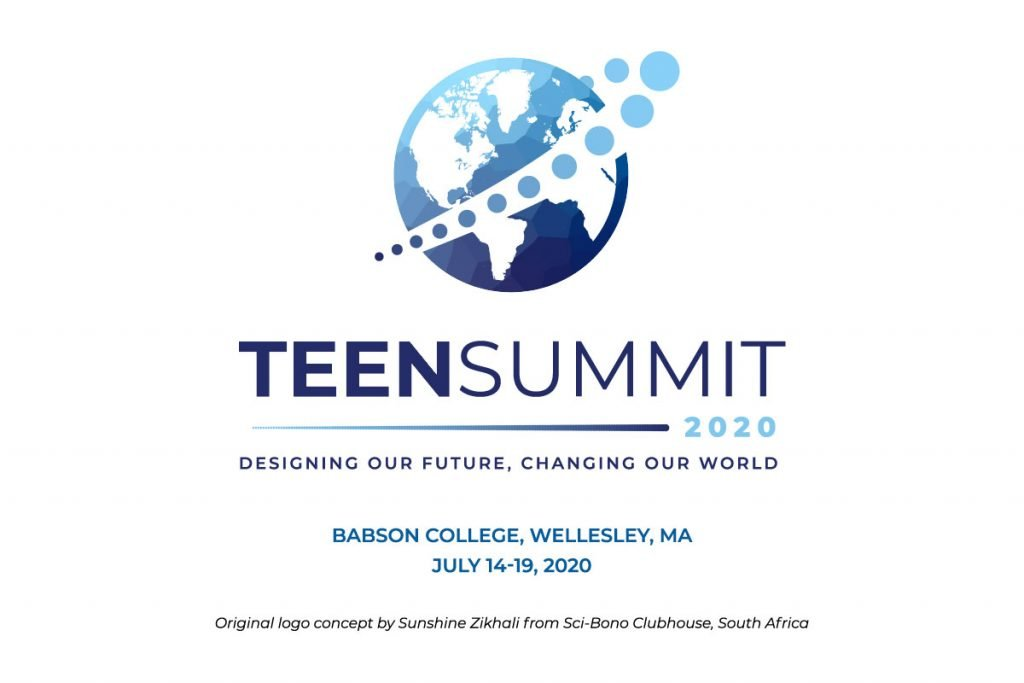 Teen Summit 2020 | Designing our future, changing our world, Babson College, Wellesley, MA, July 14-19, 2020