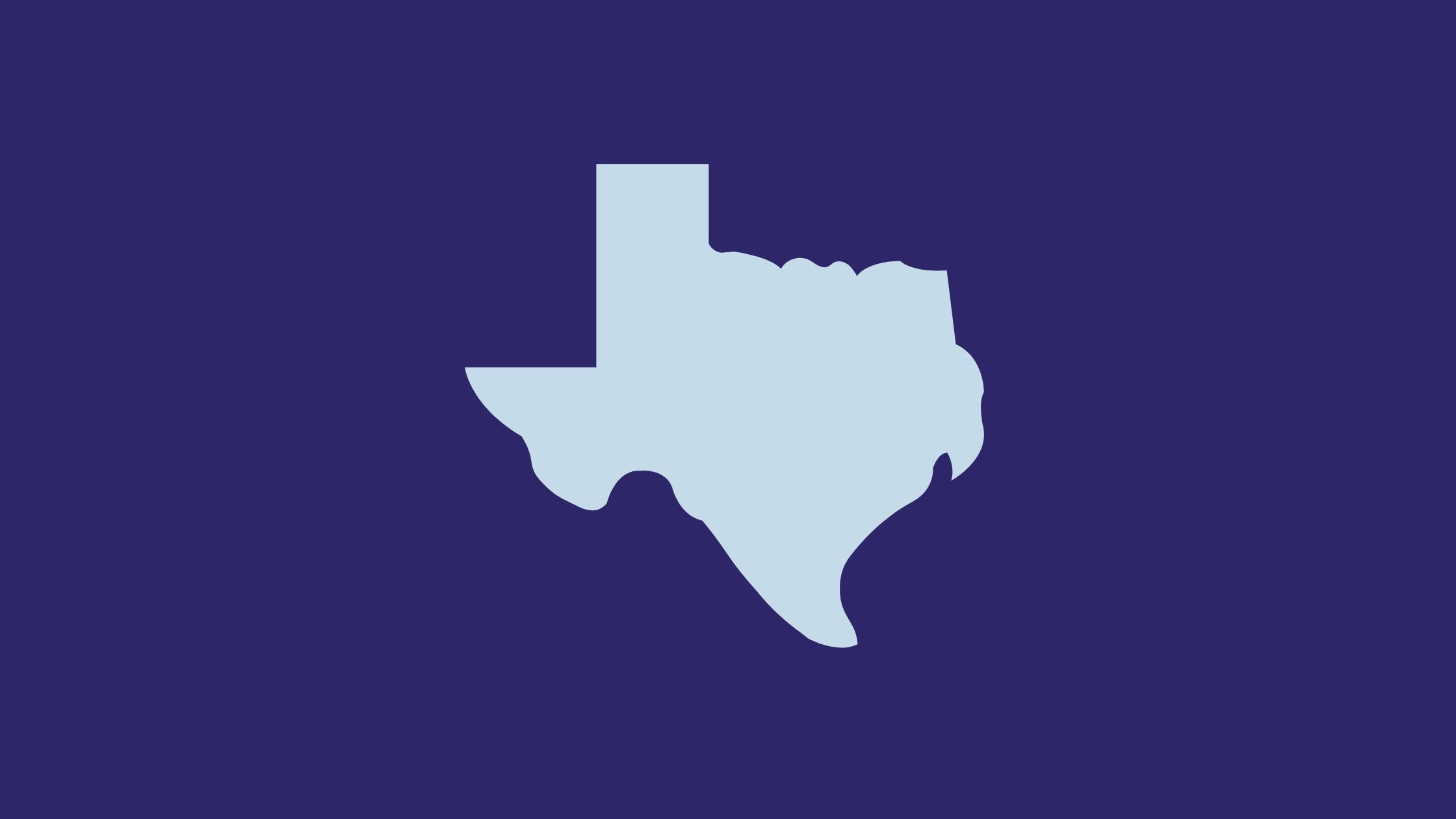 Texas silhouette